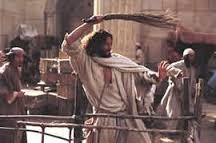 Jesus cleanses temple 1