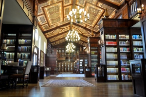 The Lanier Theological Library's Main Hall