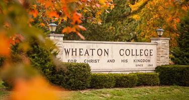 Wheaton college sign
