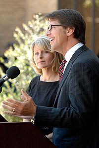 Mark and Becky Lanier
