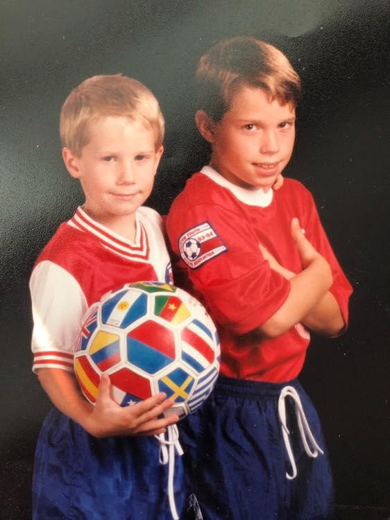 Soccer Dan and Jordan